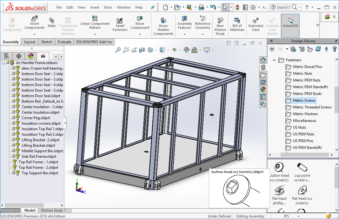 Activault – low cost PDM for SolidWorks – SolidPartners